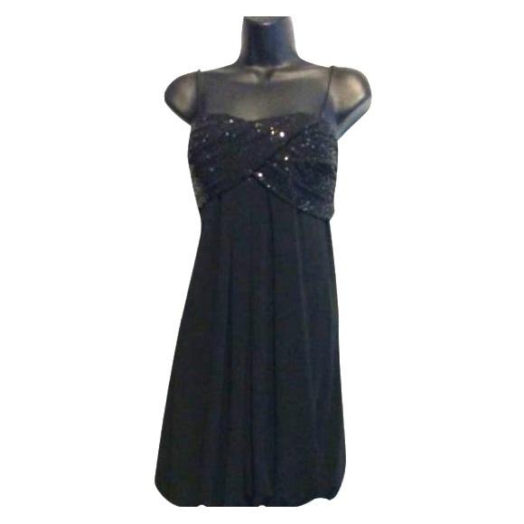 Cachet Dresses & Skirts - Cachet Black Sequin Bodice Balloon Dress
